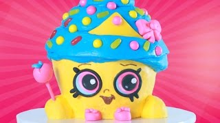 getlinkyoutube.com-SHOPKINS CUPCAKE QUEEN CAKE - NERDY NUMMIES