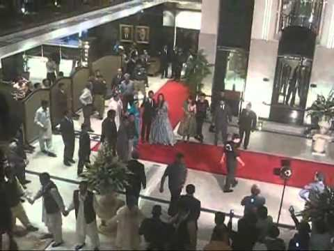 174400 Videos Views Shoaib Malik and Sania Mirza Wedding 27 April 2010 PC Hotel Lahore Pakistan