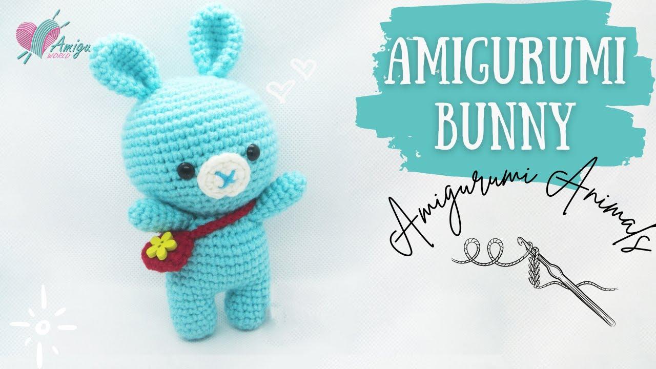 FREE Pattern – How to crochet a BONNY BUNNY amigurumi