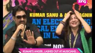 Kumar Sanu takes on the music industry