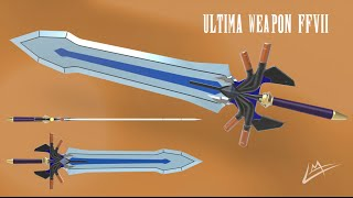 How to get Cloud's ultima weapon(Final Fantasy 7)
