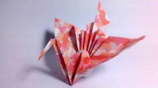 getlinkyoutube.com-Origami Kotobukizuru - Congratulations crane
