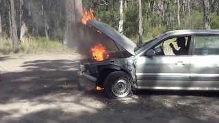 getlinkyoutube.com-part 2 with 175hp nos nitrous magna engine fail blow rally fun burnout fire