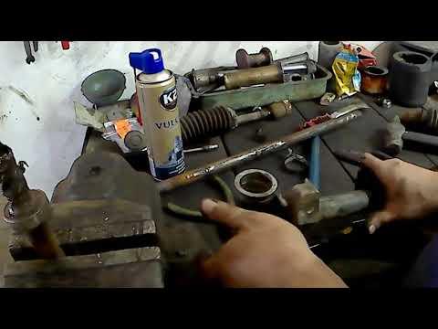Ремонт рулевой рейки Рено 19(сухая)
