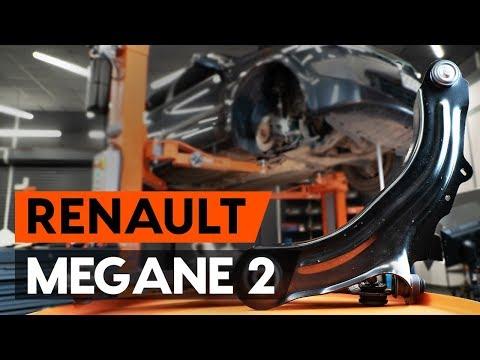 Как заменить передний нижний рычаг подвески RENAULT MEGANE 2 (LM) [ВИДЕОУРОК AUTODOC]
