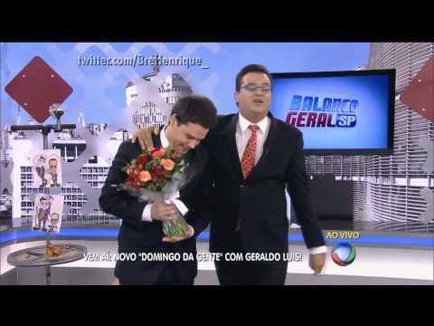 HD - Geraldo Luís se despede do