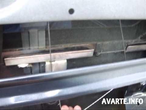 ВАЗ 4х4 НИВА оперативный ремонт стеклоподъмника