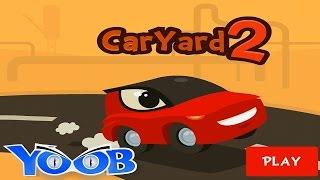 getlinkyoutube.com-Car Yard 2 Приключения красной машинки по имени Чак игровой мультфильм для детей