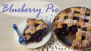 getlinkyoutube.com-Polymer Clay Blueberry Pie Tutorial