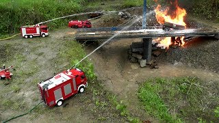 getlinkyoutube.com-RC HORRIBLE ACCIDENT,RC TANK TRUCK ON FIRE,