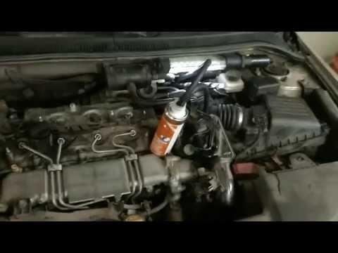 Очистка форсунок и клапанов 2.0 D-4D Toyota Avensis очистителем Pro Tec (Про Тек)