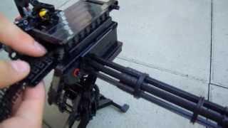 getlinkyoutube.com-LEGO vulcan gun Minigun