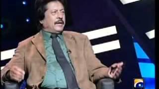 Attaullah in umer sharif show .1