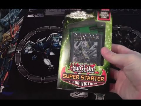 Yugioh Super Starter Deck 2013 Opening V for Victory