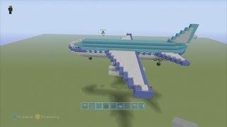 getlinkyoutube.com-SPANKLECHANK'S Minecraft Tutorials: How to make a PASSENGER PLANE