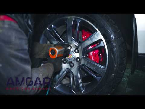 Установка тормозов HPB на Cadillac Escalade ESV 2017