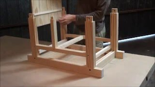 Assembling Japanese style tool chest