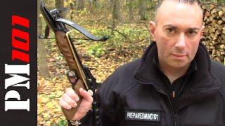 getlinkyoutube.com-The 80lb Crossbow Pistol: Compact Survival Option? - Preparedmind101