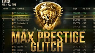 """PRESTIGE 30"" Prestige Glitch How to Get Max Prestige (Advanced Warfare) Xbox/PS4"