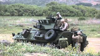 getlinkyoutube.com-Marine Armored Cars in Action
