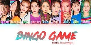MOMOLAND (모모랜드)   'Bingo Game (빙고게임)' Lyrics (Color Coded Han|Rom|Eng)