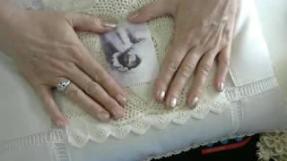 getlinkyoutube.com-Shabby Chic Christmas Pillow
