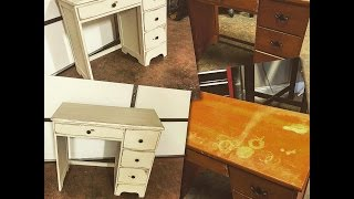 getlinkyoutube.com-DIY: Chalk Paint Furniture - No Sanding or Priming! Using Dixie Bell Paint!