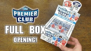 getlinkyoutube.com-Topps Premier Club BOOSTER BOX OPENING!