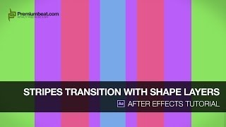 getlinkyoutube.com-After Effects Tutorial: Stripes Transition with Shape Layers