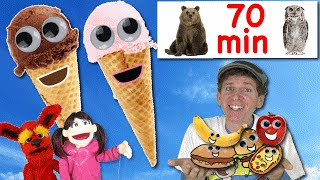 getlinkyoutube.com-Ice Cream Song and More | 70 Minutes Dream English Songs And Nursery Rhymes With Matt