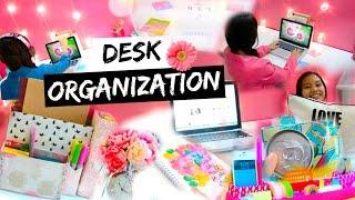 getlinkyoutube.com-DIY Desk Organization & Decoration Ideas! + My Desk Essentials!