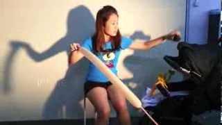 getlinkyoutube.com-how to do: balloon princess hair