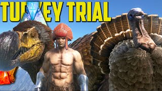 getlinkyoutube.com-Ark Survival Evolved - Turkey Trial ! DodoRex, Chieftan Hat, Super Turkey, Wishbones - Thanksgiving