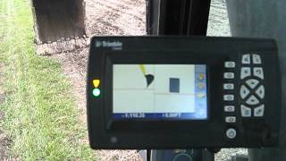 getlinkyoutube.com-Excavator (Cat 330DL) plus Trimble Grade Control Demonstration