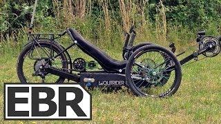 getlinkyoutube.com-Outrider 422 Alpha Video Review - High Power Recumbent Electric Trike, Touring Setup
