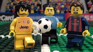 getlinkyoutube.com-Champions League Final 2015 in LEGO (Juventus v Barcelona)