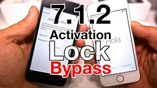 getlinkyoutube.com-NEW 7.1.2 Activation Lock Bypass