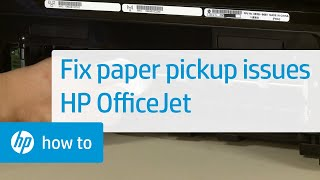 getlinkyoutube.com-Fixing Your Printer When It Doesn't Pick Up Paper -- Officejet 7610 All-in-One Printer