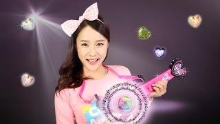 getlinkyoutube.com-캐리의 꿈의 라이브 프리즘기타 장난감 뮤직 스톤 연주 놀이 CarrieAndToys