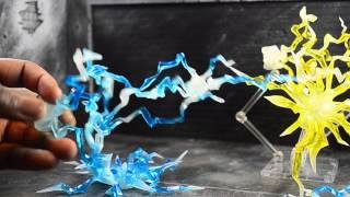 getlinkyoutube.com-Tamashii Effect Lightning Blue and Yellow Review