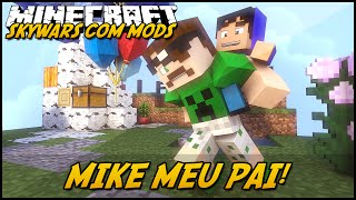 getlinkyoutube.com-Minecraft: MIKE É MEU PAI?! (SKYWARS C/ MODS GULLIVER MOD)