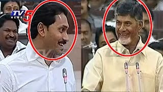 YS Jagan Makes Funny & Chandrababu Funny Counters To Jagan | TV5 News