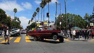 getlinkyoutube.com-Lowrider Cars Cesar Chavez Holiday Parade 2014 Mission District San Francisco California