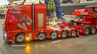 getlinkyoutube.com-RC truck EXTREME! Stunning R/C heavy haulage with 2 operators!