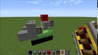getlinkyoutube.com-【Minecraft】スライムブロック飛行船【1.8.3 バニラ】