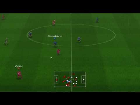 PES 5 online kristian826 vs Rebel - goals