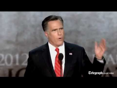 Mitt Romney speech highlights: Republican candidate accepts presidential nomination