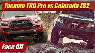 getlinkyoutube.com-Face Off: Toyota Tacoma TRD Pro vs Chevrolet Colorado ZR2
