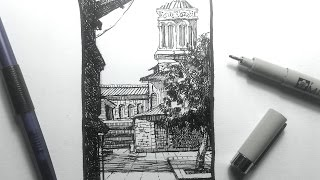 getlinkyoutube.com-Urban Sketching & Drawing Outdoor Scenes Pt 1 | Some basics