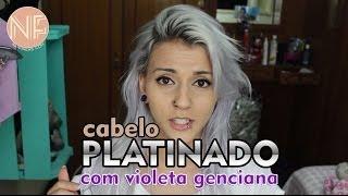 getlinkyoutube.com-[Tutorial] Como platinar o cabelo em casa com Violeta Genciana